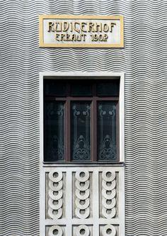 secessionist architecture Rüdigerhof Vienna