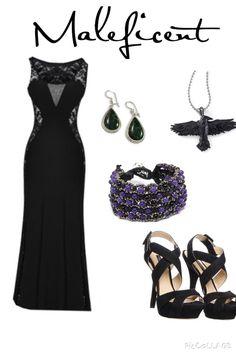 Disney Outfits, Image, Black, Dresses, Fashion, Gowns, Moda, Black People, La Mode