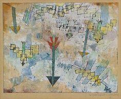 Paul Klee -Birds and Arrows,1919