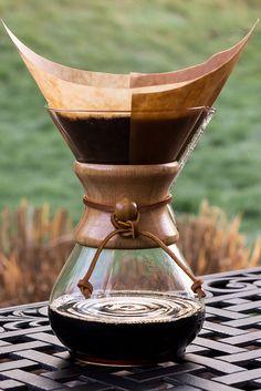 Chemex coffee pot