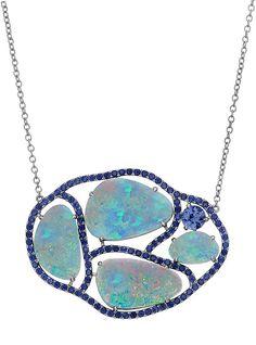 Signature Quadruple Opal Necklace | Shawn Warren Jewelry - Desginer Jewelry - Gold Jewelry