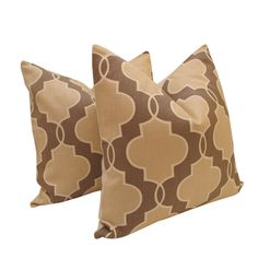 Free US ShippingPair of Decorative Designer Pillow by nenavon, $65.00