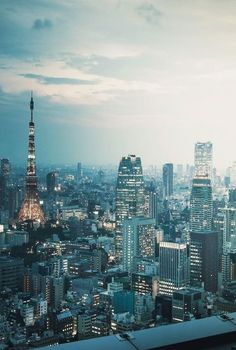 Tokyo, Japan - Click the image for amazing city breaks Tokyo Skytree, Japon Tokyo, Tokyo Tower, City Ville, Beautiful World, Beautiful Places, Places To Travel, Places To Visit, Visit Japan
