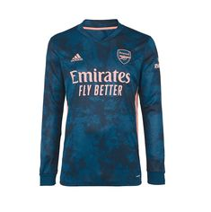 Arsenal 20/21 Third Long Sleeve Soccer Jersey Personalized Name and Nu – zorrojersey