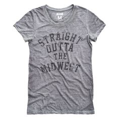 Straight Outta The Midwest Women's T-Shirt