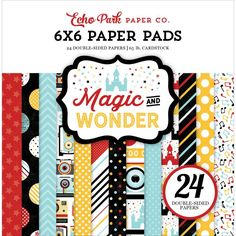 Magic Wonder 6*6 paper pad from Echo Park
