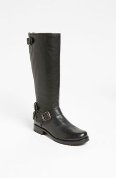 Frye 'Veronica Back Zip' Boot available at #Nordstrom......My love affair with Frye boots.