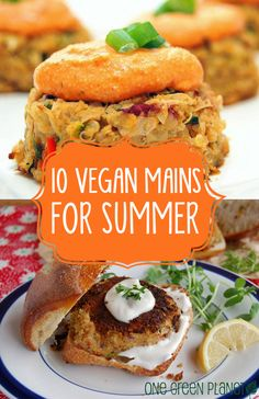 10 Vegan Main Courses for a Refreshing Summer Dinner || One Green Planet ||  http://onegr.pl/1p1B3Ap