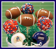 Every Day Should Pop!: Super Bowl XLVI Cake Pops