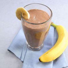 Banana Cocoa Soy Smoothie Recipe - Healthy Recipes for Kid Athletes