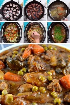 This crowd-pleasing recipe for crock pot beef stew with vegetables is a simple dish full of rich, complex flavors and plenty of vegetables you'll feel great about serving!