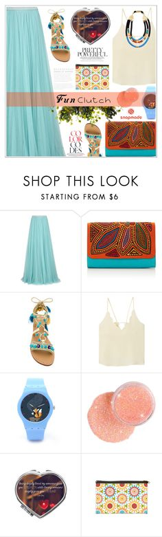 """Grab and Go: Cute Clutches"" by dora04 ❤ liked on Polyvore featuring Jenny Packham, Mola SaSa, Mystique, MANGO, Clutch, clutches and funclutches"