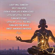 you will turn into he whole sweet, amorous universe. Spiritual Images, Spiritual Wisdom, Spiritual Awakening, Spiritual Guidance, Kahlil Gibran, Carl Jung, Light Of Life, Love And Light, Hafiz Quotes