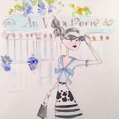 Sunday sketch #fashion #paris #sketch