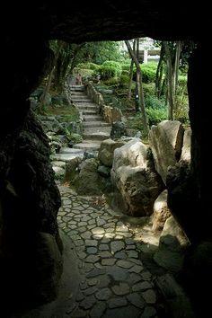庭園探訪:神戸・相楽園 : 日本庭園