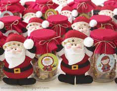 Santas Diy Christmas Cards, Christmas Sewing, Christmas Decorations, Christmas Projects, Felt Crafts, Holiday Crafts, Christmas Makes, Felt Christmas, 242