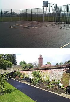 Avery Hill Park: Multi-Use Games Area; The Rose Garden