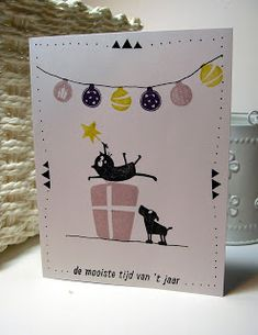 Scrapcolour: De mooiste tijd van het jaar.. Christmas Diy, Christmas Cards, Apple Tree, Mail Art, Creative Cards, Diy Cards, Card Making, Projects, How To Make