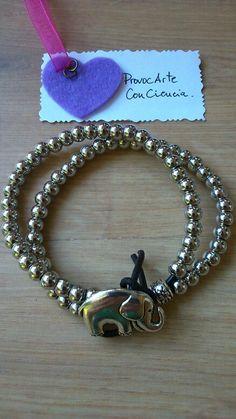 """Pulsera """"Sonrisa/Metal"""". Consultas y pedidos: provocarteconciencia@gmail.com  Web: provocarteconciencia.com Blog: provocarteconciencia.blogspot.com.es"""