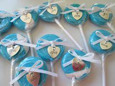 roommom27 Tiffany themed lollipops
