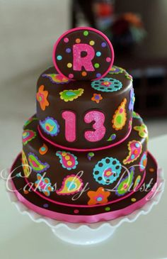 Cakes by Dusty: Remington's 13th Birthday