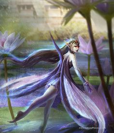 Lilac Fairy. Conceptual Art by Anthony Francisco