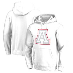 Arizona Wildcats Fanatics Branded Whiteout Fleece Pullover Hoodie - White - $35.99