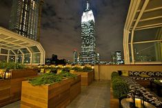 Chosen by New York Magazine as Manhattan's coolest rooftop bar, The Top of the Strand offers a jaw-dropping view of the Empire State Building four blocks away. My favorite bar in NYC...so far.
