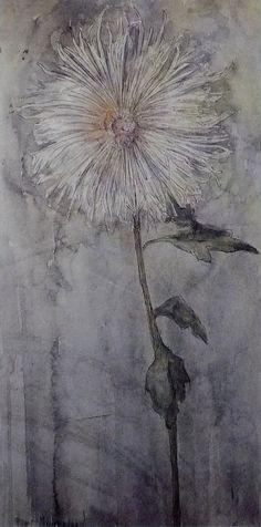 Piet Mondrian - Upright Chrysanthemum (1901)