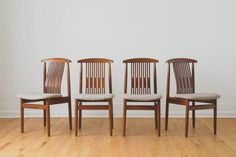 MCM Dining Chairs - http://homesteadseattle.com/collections/sold/products/mcm-dining-chairs-2