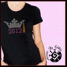 Princess Graduation Crown with Year DIY by AccentsByEddita on Etsy, $9.50
