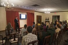 Nursing students learn about death and dying at funeral home