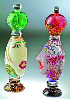 Kurt and Lynda Carlson perfume bottles