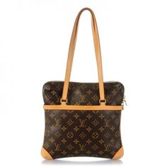 This is an authentic LOUIS VUITTON Monogram Sac Coussin GM. This shoulder bag is crafted of classic dark brown and gold Louis Vuitton monogram on toile canvas.