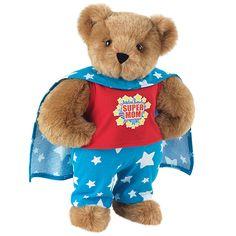 "15"" Super Mom Bear from Vermont Teddy Bear. $69.99. #MothersDay"