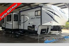 New 2018 Forest River RV Cherokee Wolf Pack 325PACK13 Toy Hauler Fifth Wheel at Big Daddy RVs | London, KY | #j1211528-IN Used Campers For Sale, Forest River Rv, Toy Hauler, Fifth Wheel, Big Daddy, Caravans, Cherokee, Recreational Vehicles, Wolf