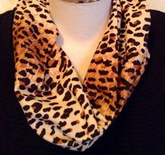 A personal favorite from my Etsy shop https://www.etsy.com/listing/177213209/scarflette-infinity-leopard-mini
