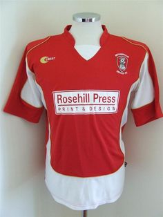 Rotherham United Rotherham United, Football Shirts, Print Design, The Unit, Colours, Tops, Fashion, Football Jerseys, Moda