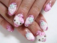 Quiero unas asi pero diferente rosa :') i <3 hello kitty