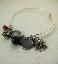 Halloween Bangle Bracelet Kit YOU Can Make by UnkamenSupplies