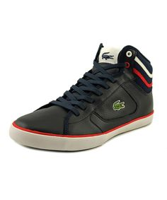 LACOSTE Lacoste Camous Men  Round Toe Leather  Sneakers'. #lacoste #shoes #sneakers