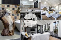 Hornbill House Self Catering Apartments in Hermanus. Apartment 1 sleeps 2 guests and is fully equipped for self catering. Wet Room Shower, Bbq Area, Wet Rooms, Queen Size Bedding, Open Plan, Lodges, Apartments, South Africa, Catering