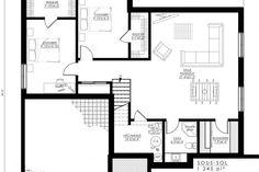 Plan de Maison Moderne Ë_146 | Leguë Architecture Drummond House Plans, Small House Plans, Architect Design, Unique Colors, Floor Plans, House Design, Stockholm Sweden, Modern Homes, How To Plan