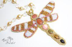 Bella Libelula  Beautiful Drangolfly  Bead by MagnoliaBeadArt, $70.00