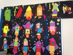 Space Crafts Preschool, Space Crafts For Kids, Art For Kids, Nursery Activities, Space Activities, Diy Classroom Decorations, Classroom Themes, Space Classroom, Solar System Projects