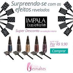 Compre o seu em: www.lojadeesmaltes.com.br