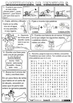 Actividades de Expresión Escrita