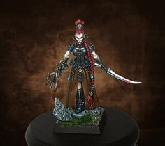 Elven Huntress - Average score: 9.3 by Lan Studio. Vote here - http://coolminiornot.com/382297