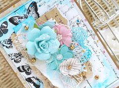 Amazing tips by Emilia on how to use watercolor for cards! >>>Prima…