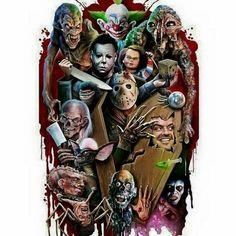 Horror Icons.